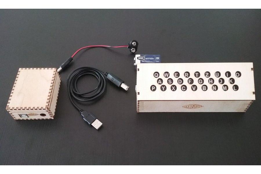 Lamp Field for the Arduino Enigma Machine
