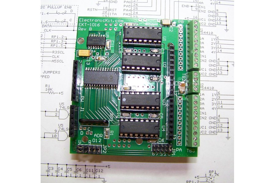 Arduino 16 Channel Digital Power Shield