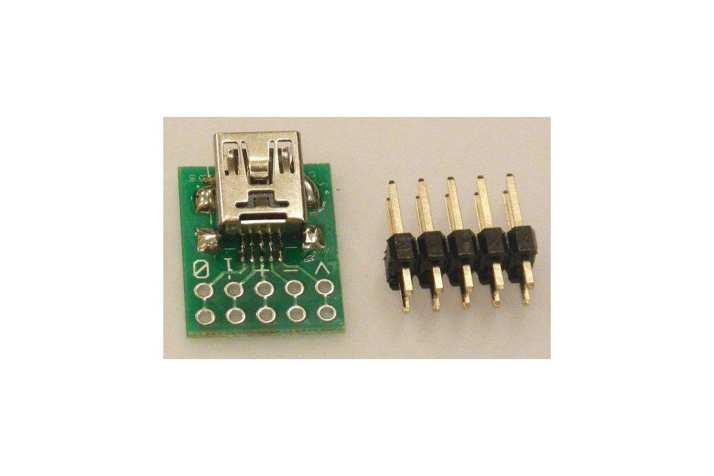 USB-mini breakout  2