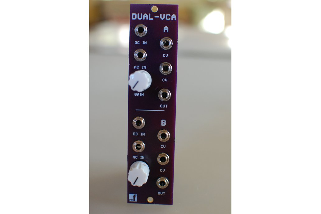 Dual VCA (Eurorack PCB Set) 4