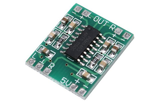10pcs Mini Audio Amplifier Board(12615)