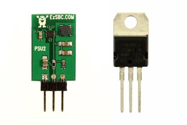 5V 1A Switch-Mode Voltage Regulator