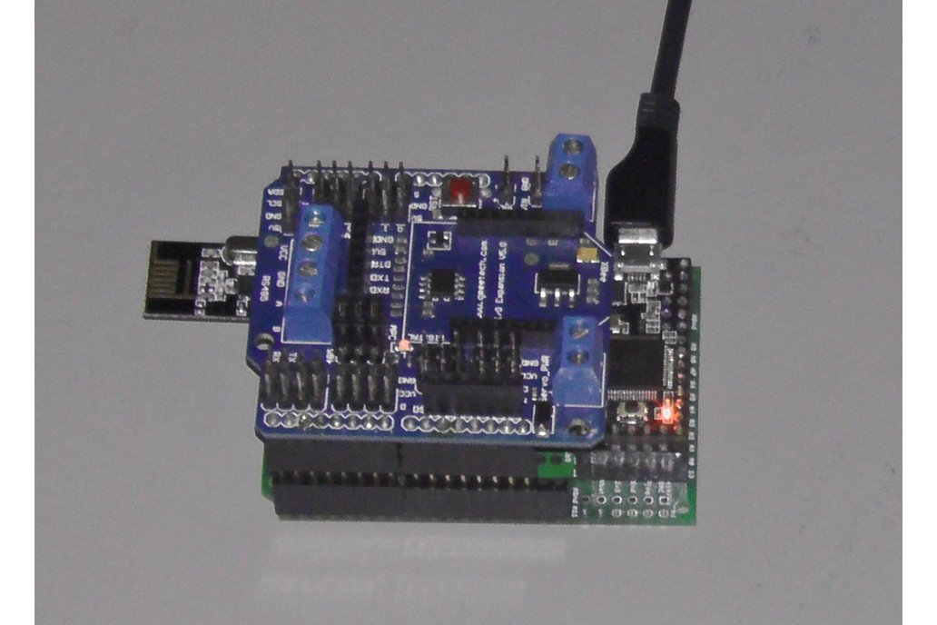 Teensy 3/LC Proto board, Arduino Shield, nRF24L01+ 5