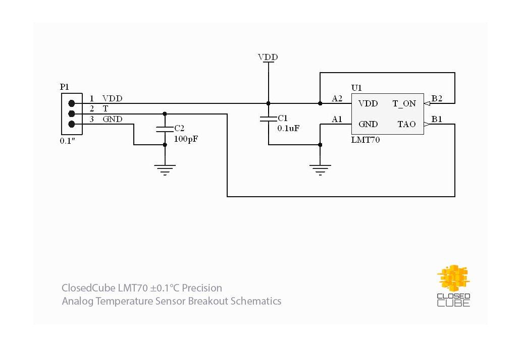 LMT70  ±0.1°C Precision Analog Temperature Sensor 2