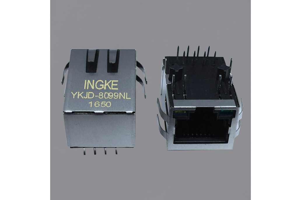 13F-64ERGYDPZ2NL 1 Port RJ45 Magnetic Jacks 1