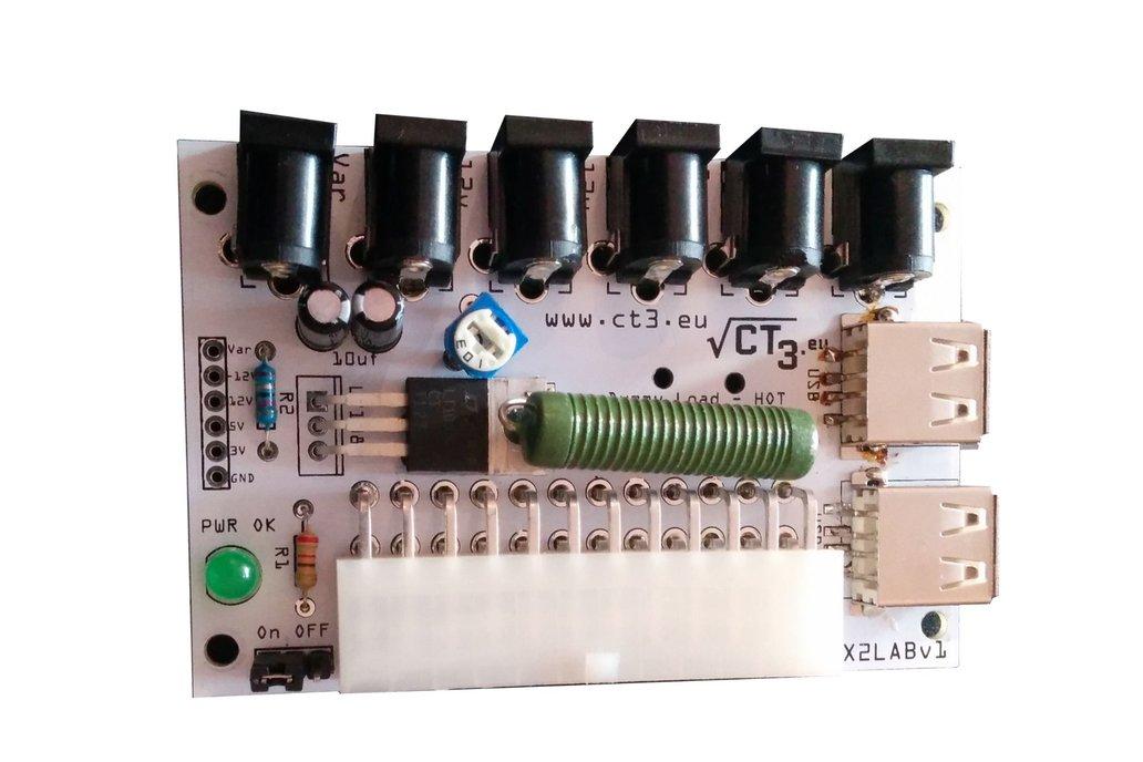 Programmable LABRATORY PSU FROM ATX PSU - KIT 1