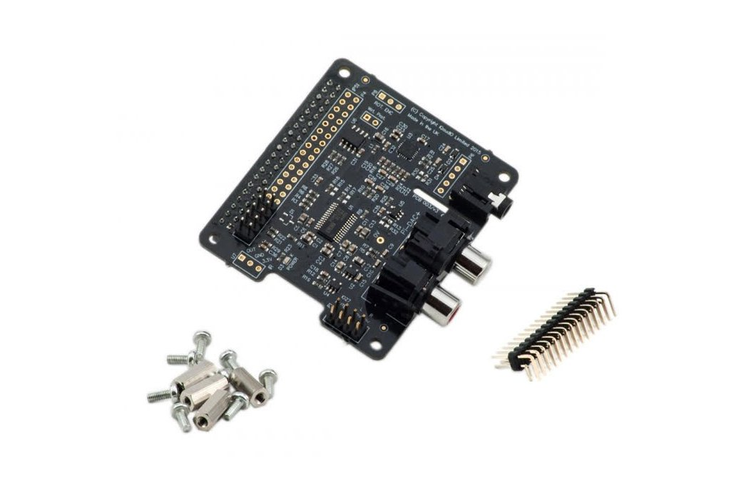 Pi-DAC+ Full-HD audio card 3