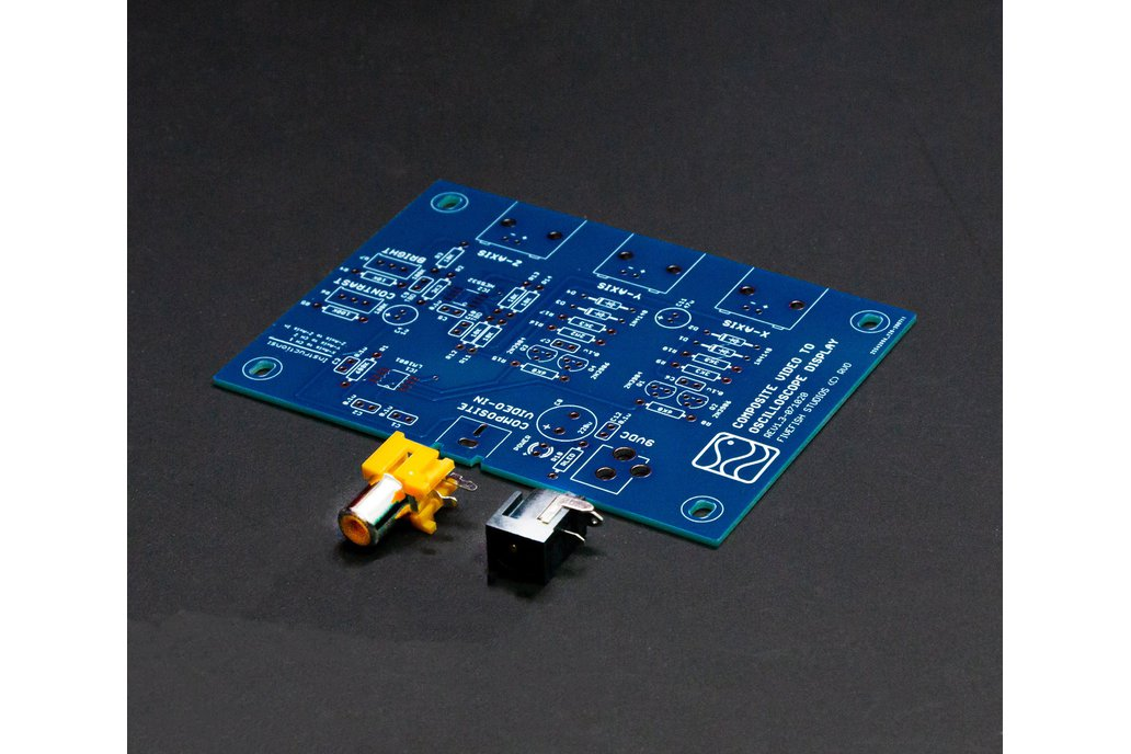 Video to Oscilloscope Converter (PCB Only) 1