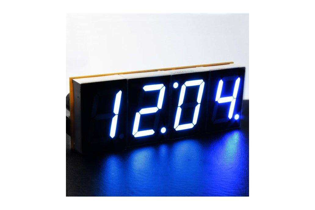 DIY 4 Digit LED Electronic Clock Kit Large Screen  2