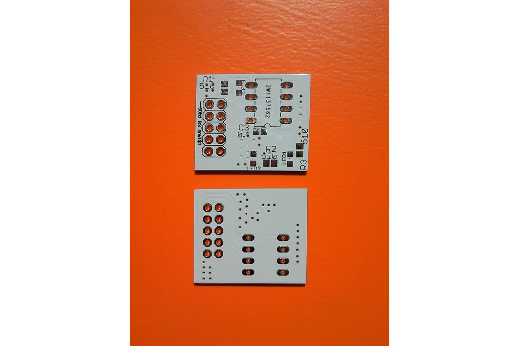 Attiny85 programming board PCB 1