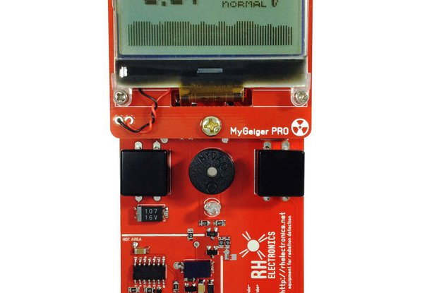 MyGeiger ver.3 PRO DIY Geiger Counter with SBM-20