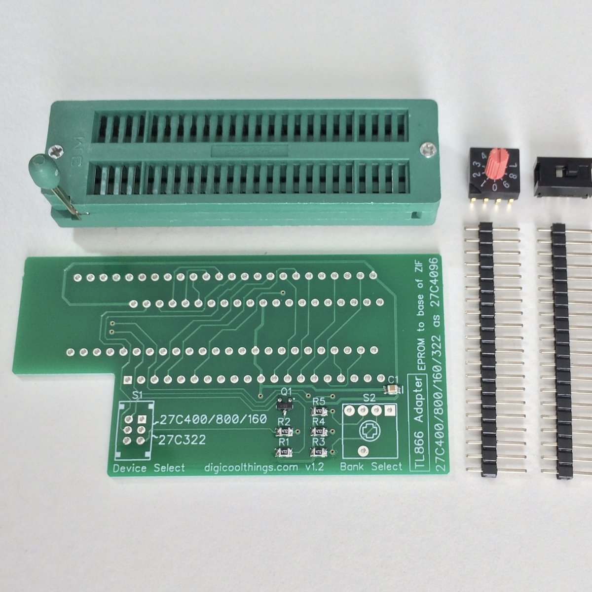 TL866 Adapter for 27C322 & 27C400 /800 /160 EPROMs from