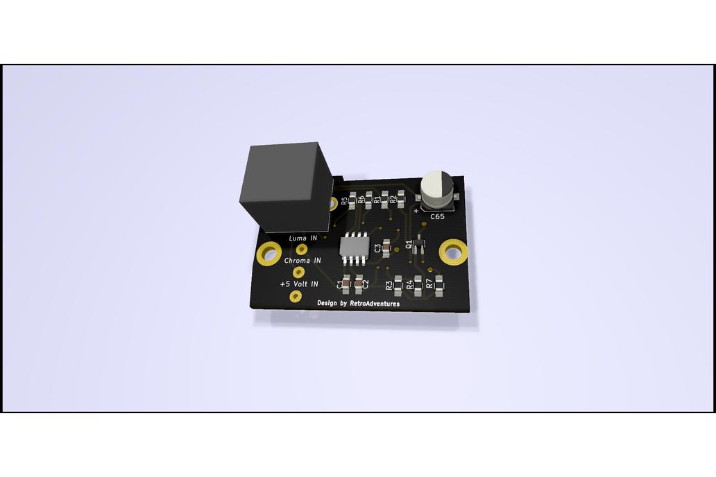 ZX Spectrum S-Video Modulator Replacement 1