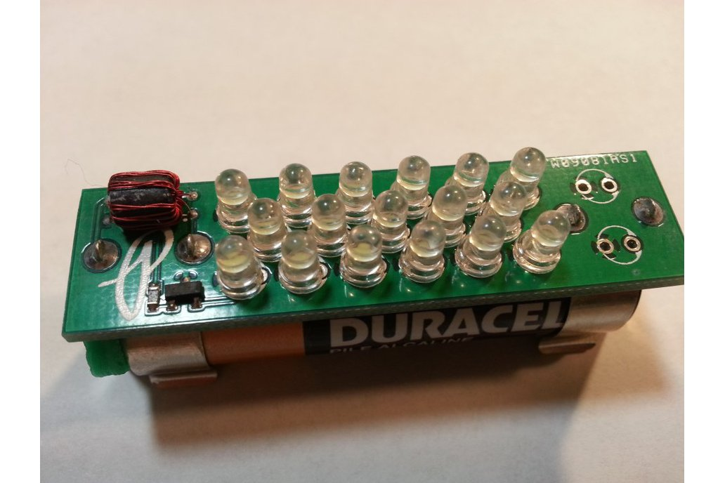 Multi-LED Joule Thief - Cosmetic Damage 1