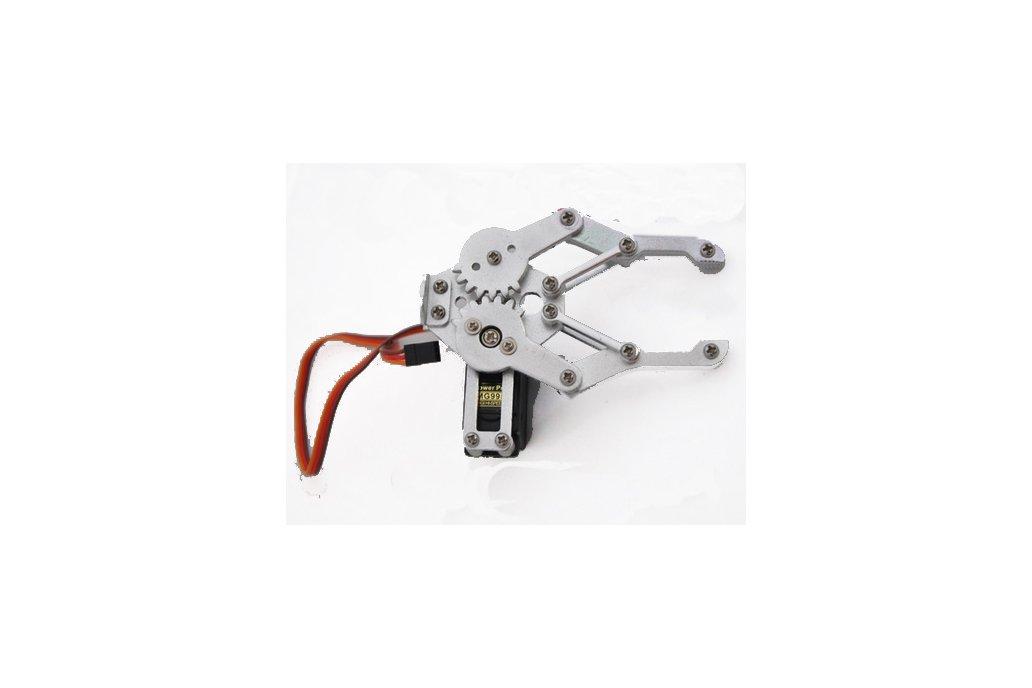 Metal Robotic Arm Gripper with Optional Servo 5