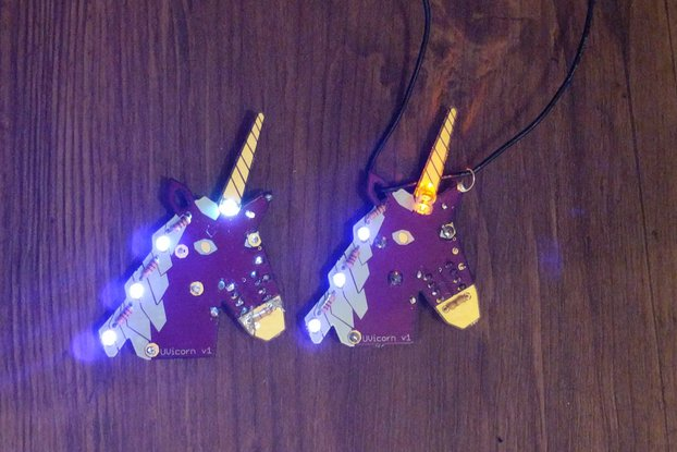 UVicorn Necklace - LED Unicorn