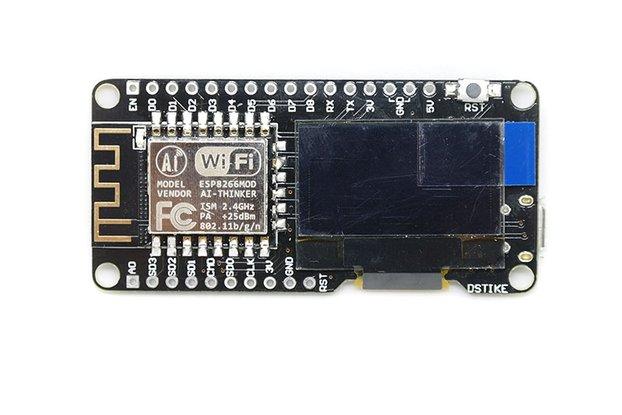 D-duino V3(Arduino&NodeMCU&ESP8266&0.96OLED)