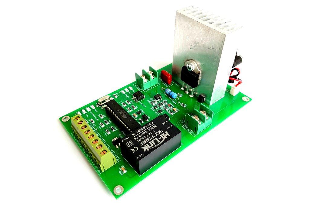 SERIAL Interface AC Dimmer 16A TRIAC Leading EDGE 1
