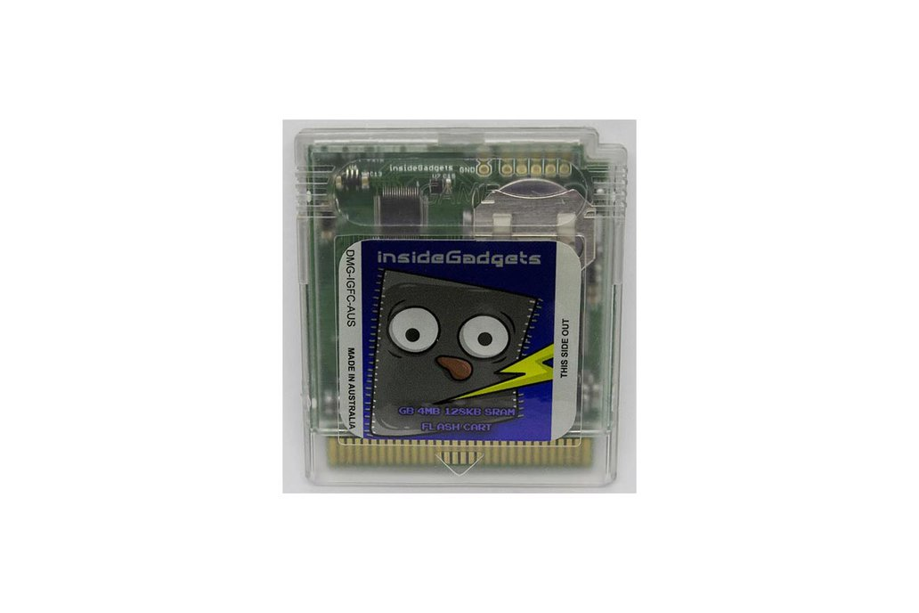 Gameboy 4MB 128KB SRAM Flash Cart 1