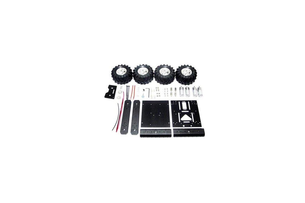 Road Robot Smart Car Kit For Arduino Raspberry Pi 5