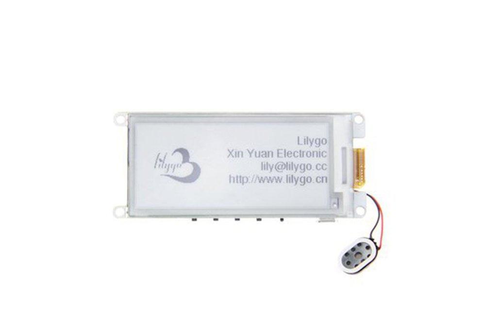"LILYGO® TTGO T5 V2.2 ESP32 2.9"" EPaper Speaker 1"