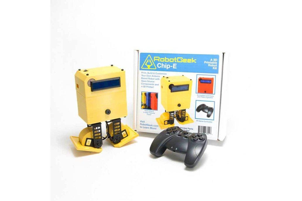 RobotGeek 'Chip-E' Robot Kit 2