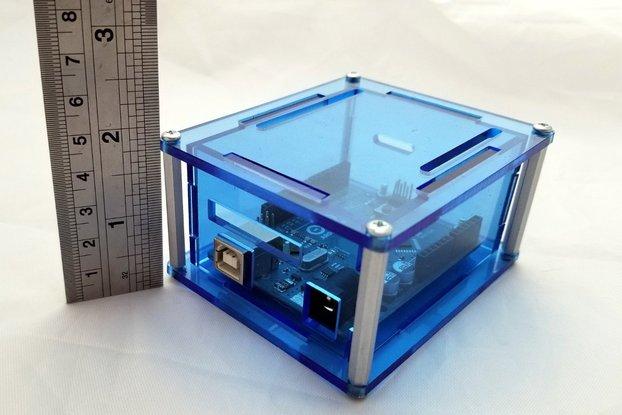 """Arduino Uno project enclosure """"Uno 3H"""""""