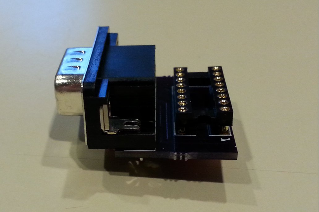 Joystick adapter for Apple IIc 3