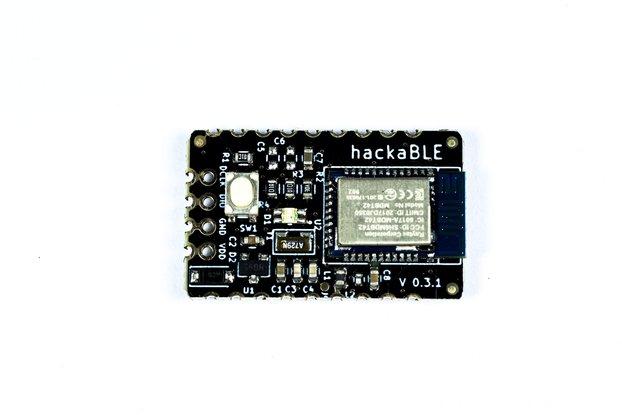CLEARANCE SALE! hackaBLE tiny nRF52832 BLE dev brd