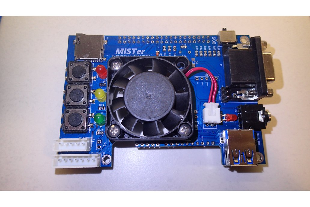 MiSTer IO Board 5.6 (with Heatsink and Fan) 1