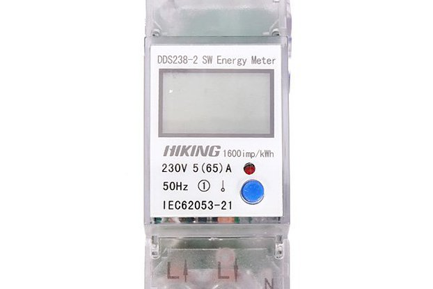 5(65)A 230V 50HZ Single Phase Energy Meter