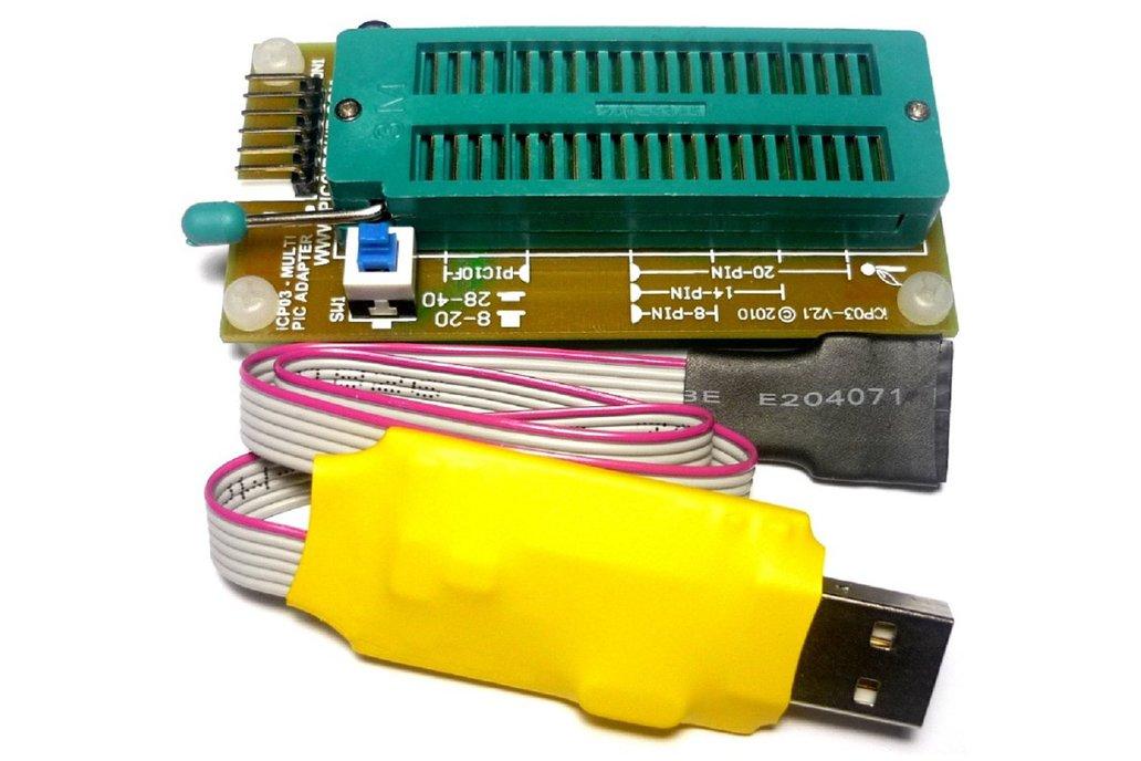 iCA03 - USB PIC & EEPROM Programmer Set 1