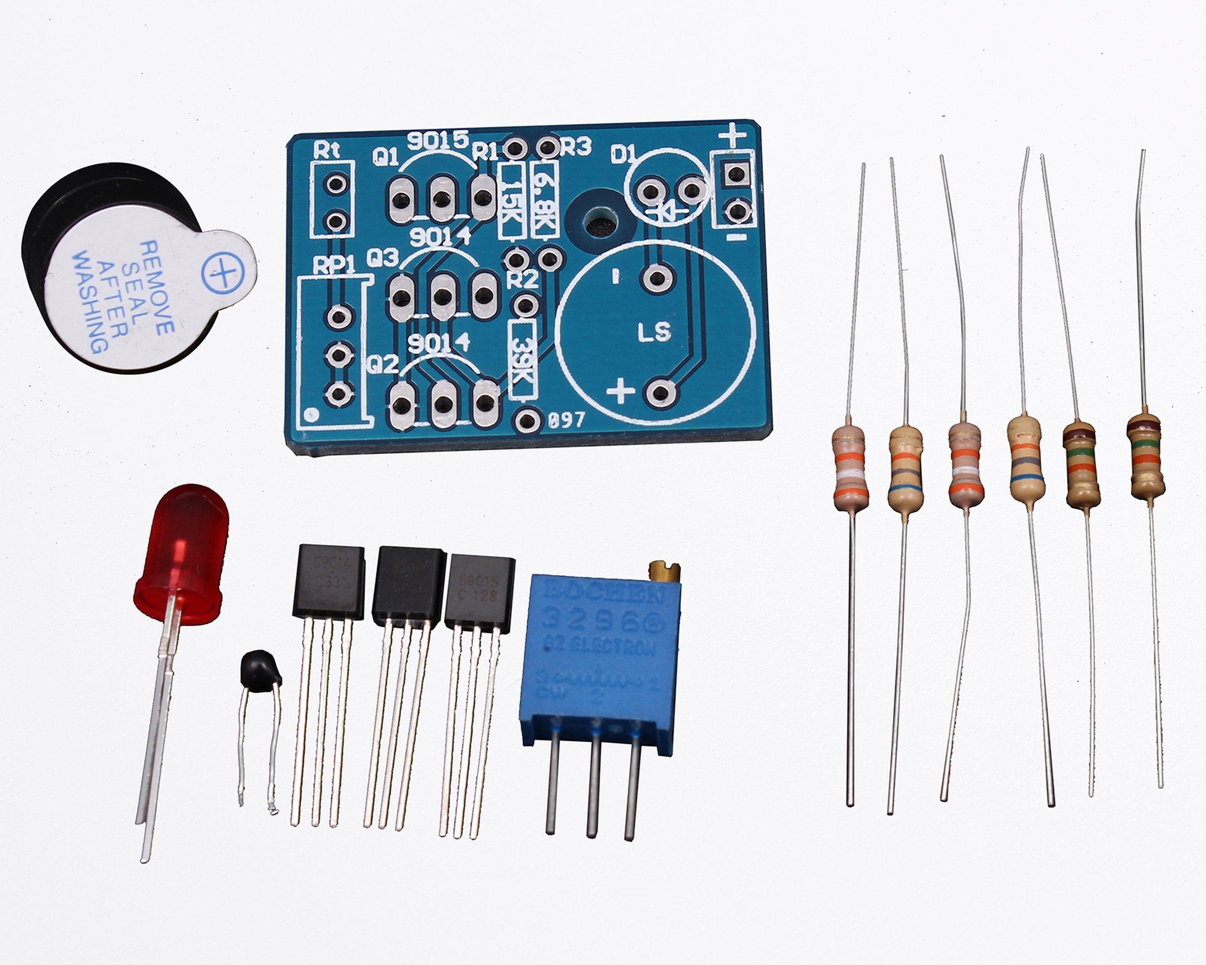 Lightalarm Wiring Diagram Page 3 And Schematics Infra Red Light Barrier Using 555 Temperature Control Sound Alarm Diy 5425 5