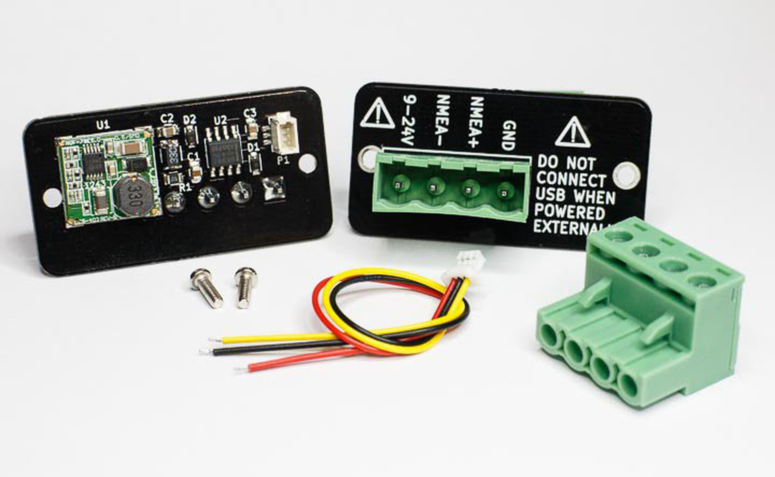 NMEA 0183 / RS-422 Adapter for dAISy 1