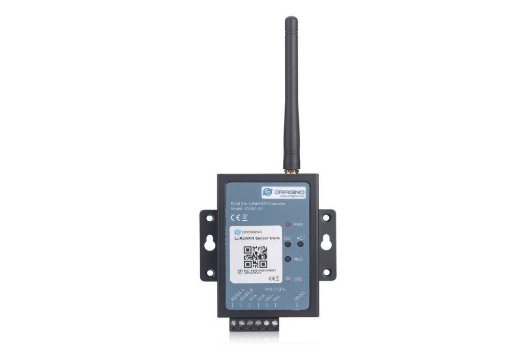 RS485-LN RS485 / Modbus to LoRaWAN Converter 1