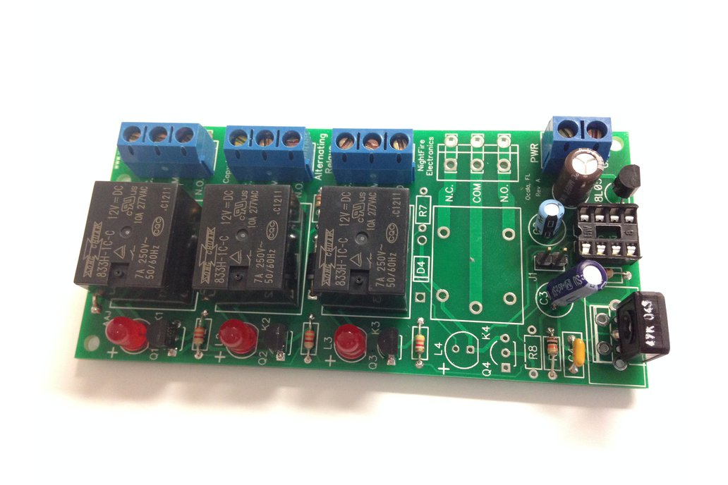 Adjustable Alternating 3 Relays Kit, 18v (#5470) 1