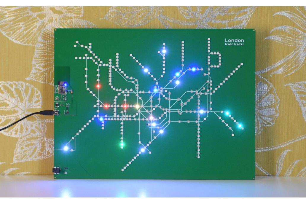 London Underground Large - Live Circuit Board Map 1