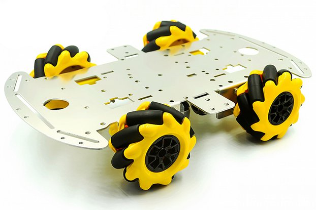 4WD Mecanum wheel Obstacle Avoidance Car