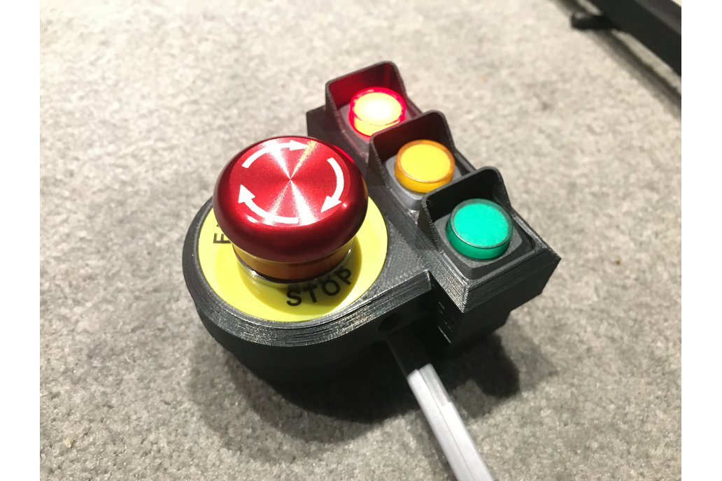 Emergency Stop Switch with LED indicators 1