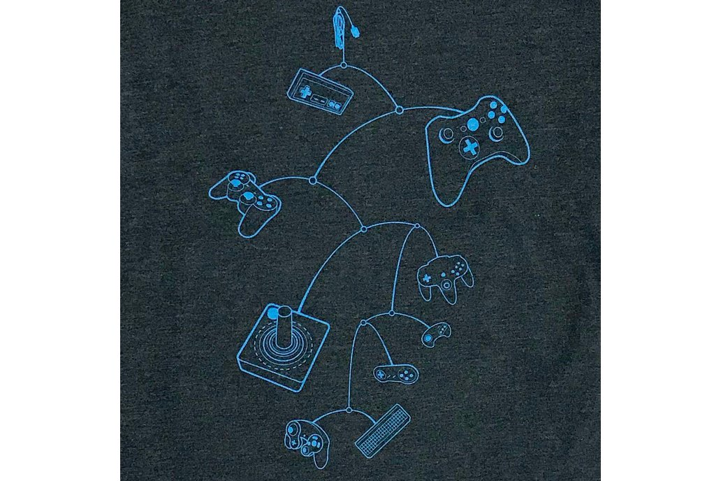 Mobile Controllers Graphic T-shirt 1