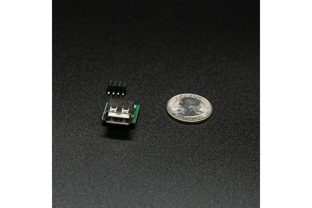 USB 2.0 Type A Breakout Module (Female Connector) 1