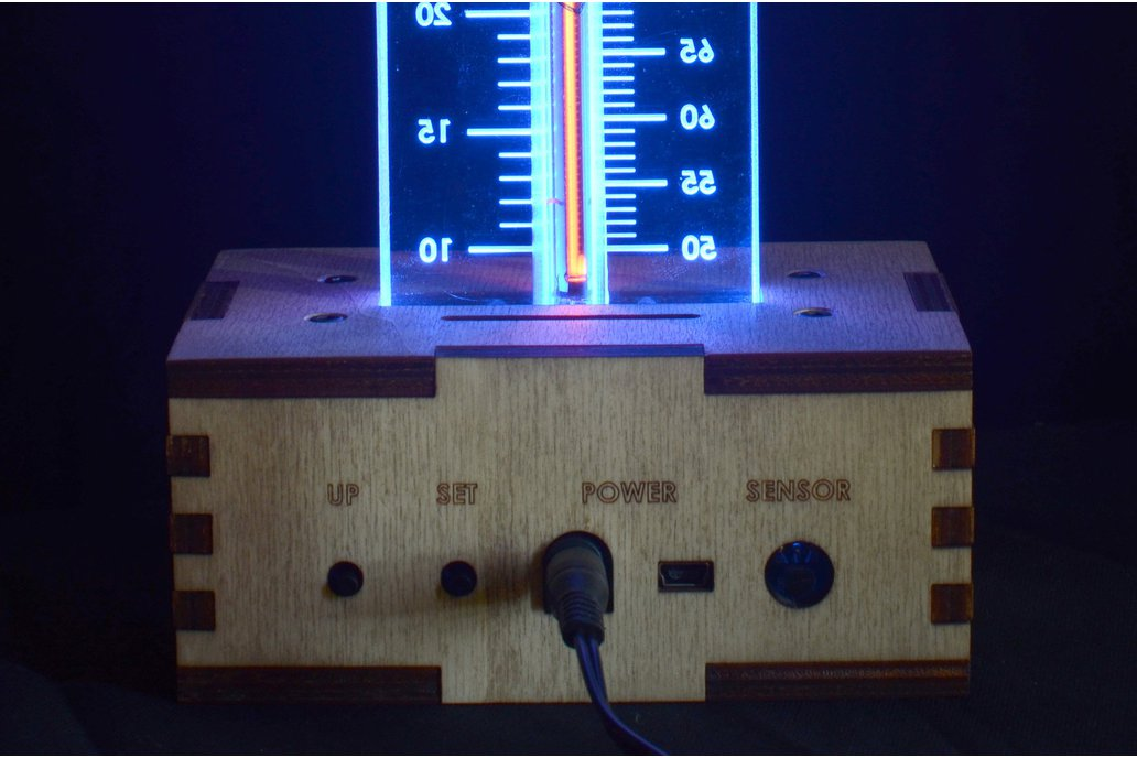 thermNeon - the neon nixie room thermometer 2