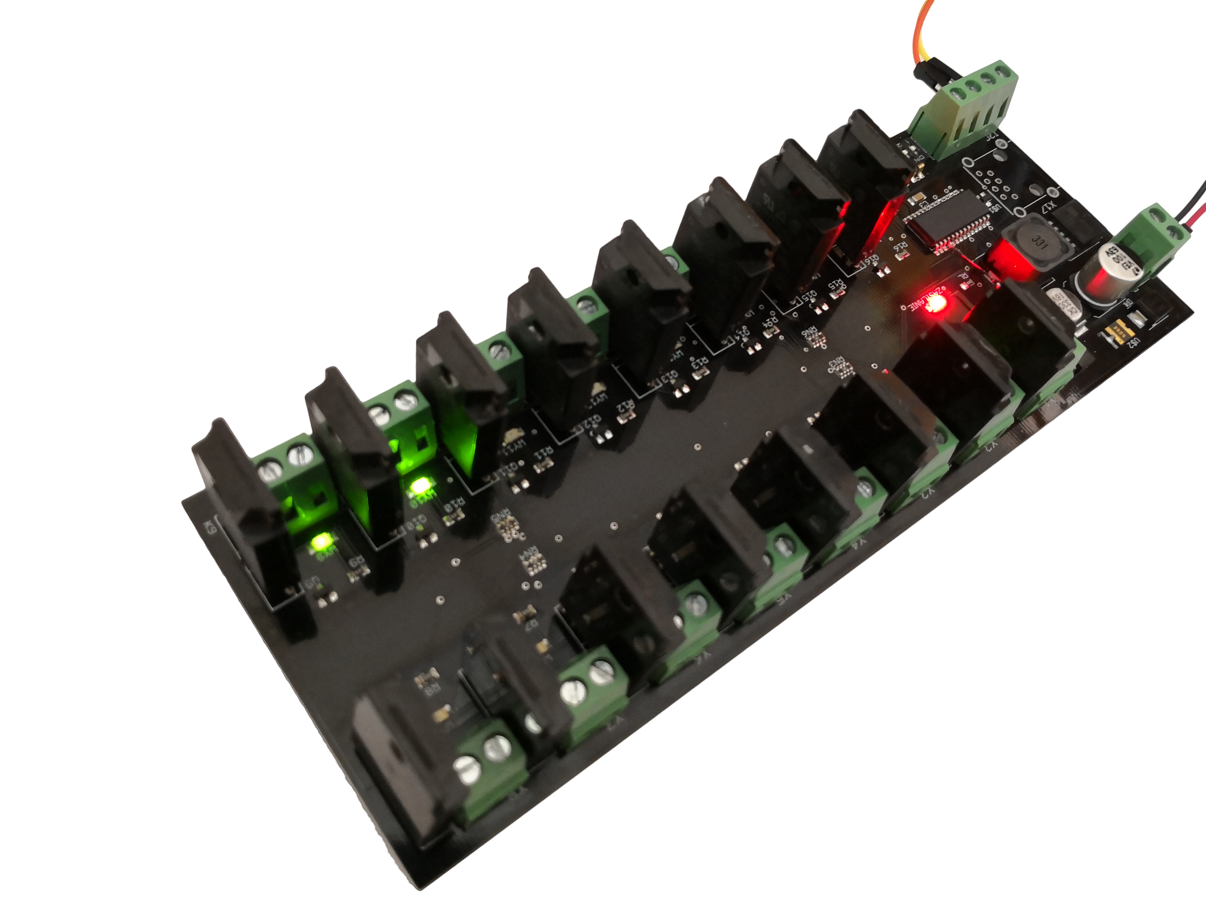 I c channel ssr relay module board arduino pi from