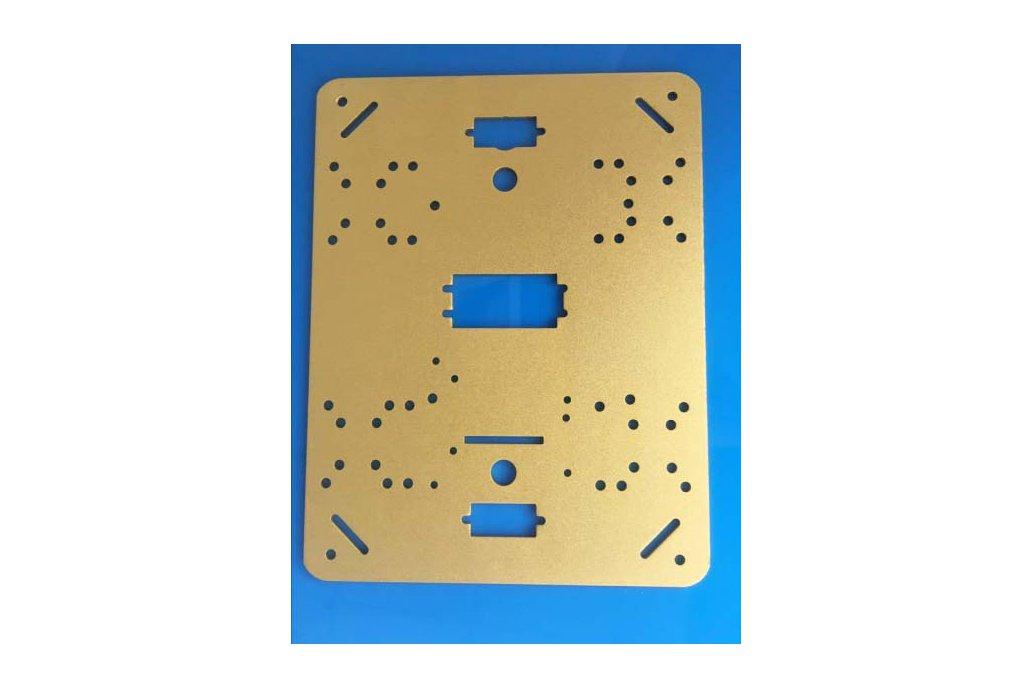 Metal Panel Frame Plate for Robot Tank Car Chassis 2