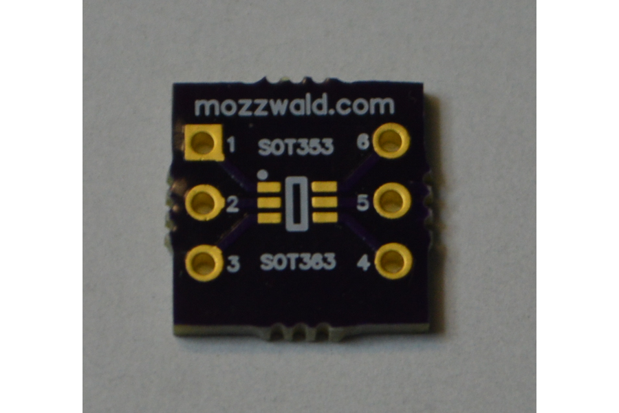 SMD Adapter SOT23/323/353/363 to DIP6 Double Sided