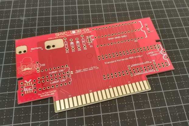 SNES repro PCB build your own carts!
