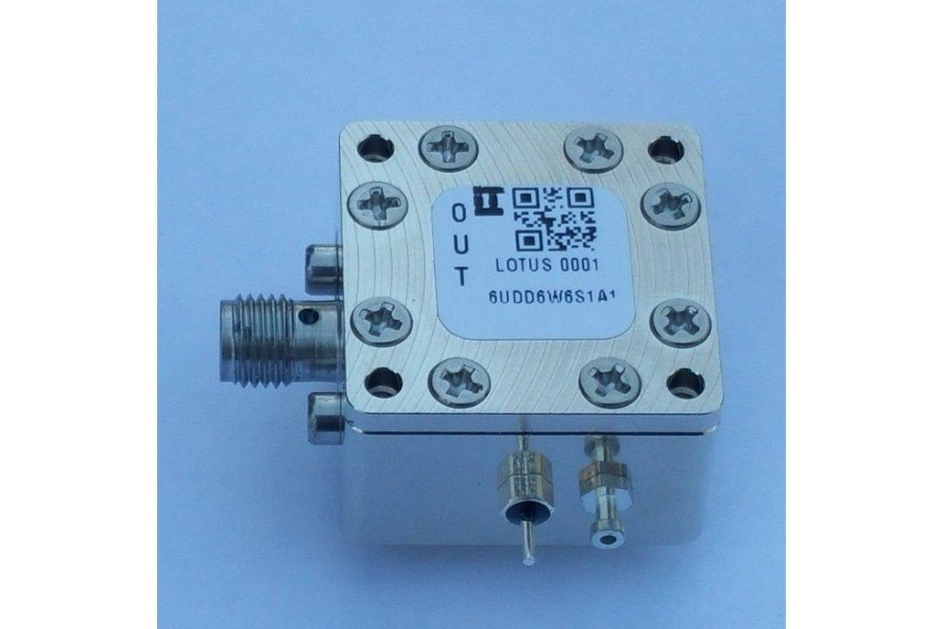 """Encl. Kit for 62mil PCB 9/16"""" Square Act. 1 SMA 1"""