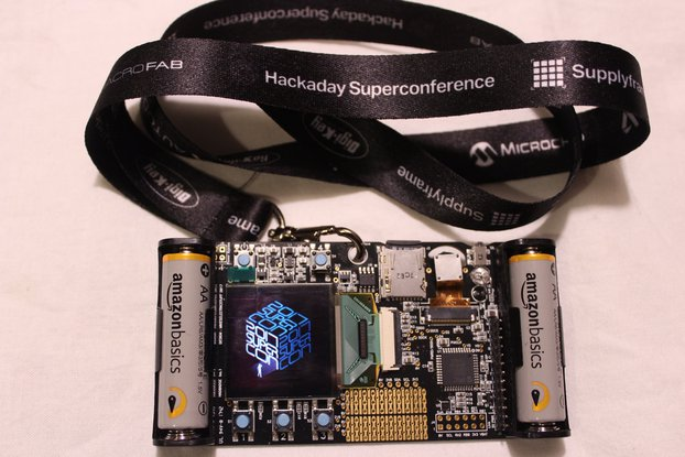 2017 Hackaday Superconference Badge