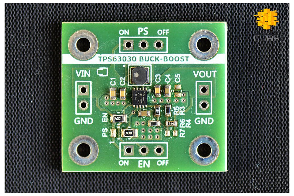 TPS63030 High Efficient Buck-Boost (3.3V or 5V) 1