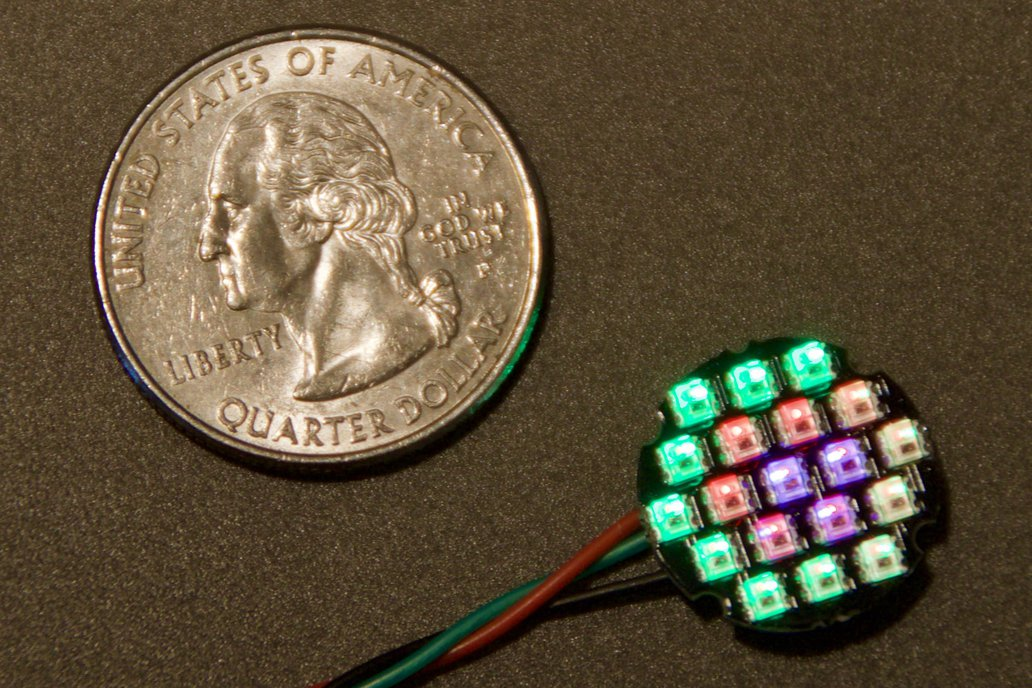Equinox - Orbit - 16mm dia. LED Disc with 19 LEDs 1